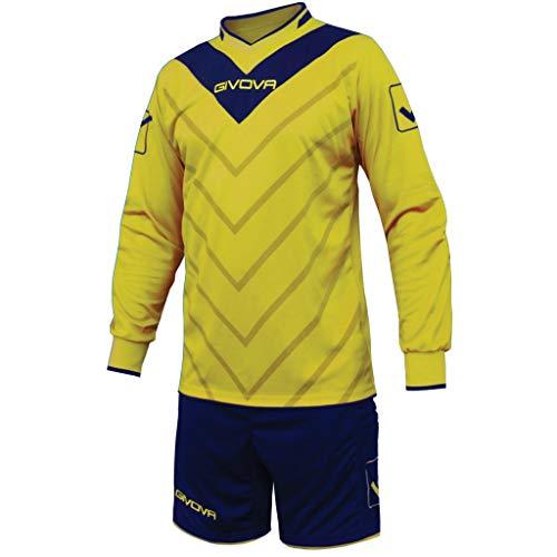 Givova, kit sanchez, jaune/bleu, XL