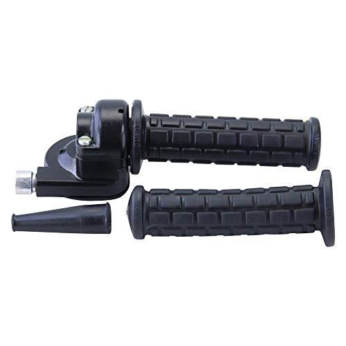 Gasdrehgriff Set M81 schwarz Zündapp Puch Kreidler Hercules Mokick Mofa Moped Griffe Satz Gasgriff