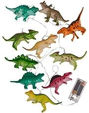 Mnsun 10 LED dinosaurus fee lichten ca. 1,70 m lange batterij werkende kinderkamer verlichting gift decoratie trend cartoon versierd kerst sfeer lichten