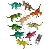 Gspose Guirnalda de 10 luces LED para niños, diseño de dinosaurios