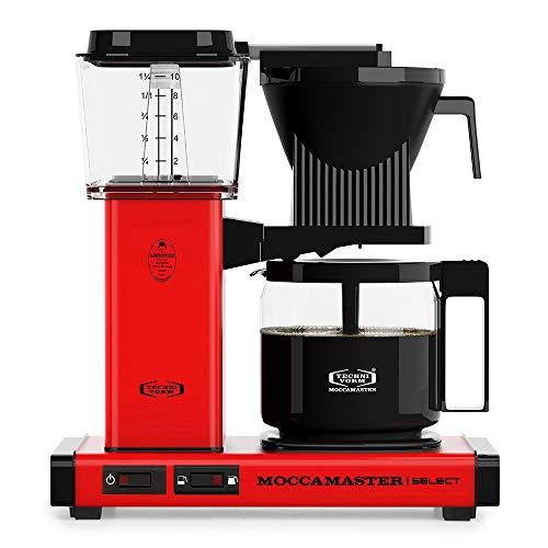 Moccamaster Filter Kaffeemaschine KBG Select, 1.25 Liter, 1520 W, Red