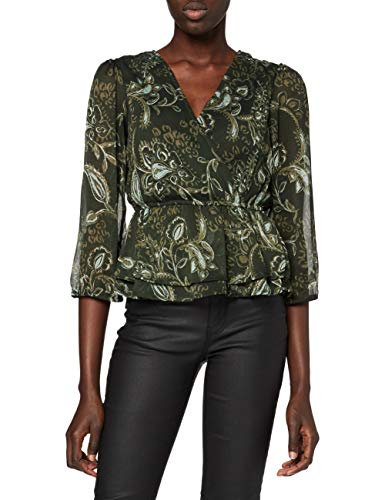 ONLY Damen Bluse, AOP:Hand Drawn Paisley/ONLNANA 3/4 TOP WVN, M