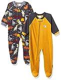 Gerber Baby Boys' 2-Pack Blanket Sleeper, Dinosaurs Black, 6-9 Months