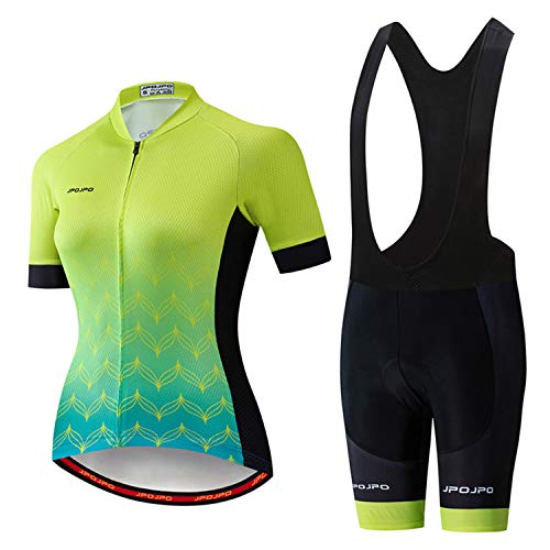 Details about  /LADIES CYCLING JERSEY SET 2021 FOOTBALL KIT SHORT SLEEVE SEAT CUSHION RACER BIKE