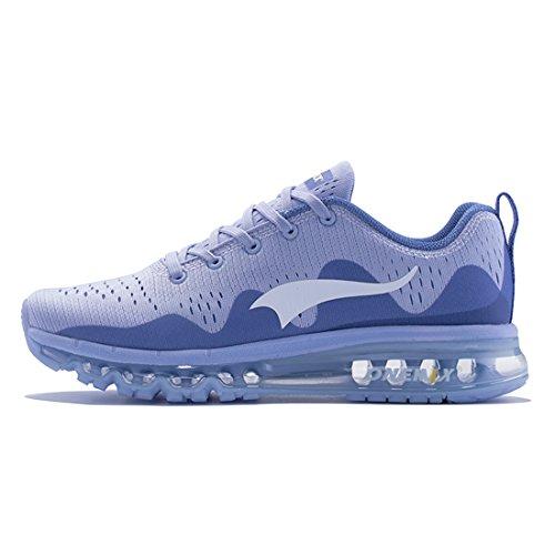 vdxbv - Tenis deportivos para hombre, para correr, gimnasio, trote, tenis, senderismo, US 6.5 - US 12.5, azul, 11