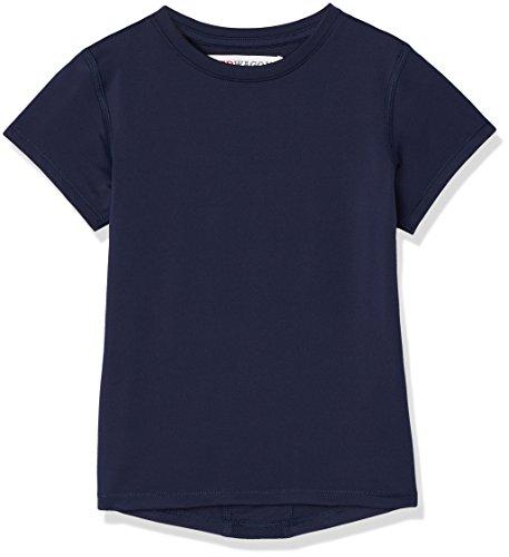 Amazon-Marke: RED WAGON Mädchen Atmungsaktives Sport T-Shirt, Blau (Navy), 116, Label:6 Years