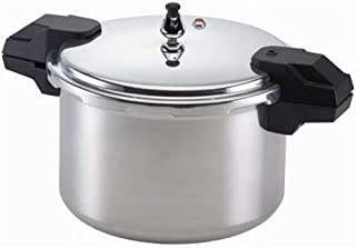 Mirro 92116 Polished Aluminum 5 / 10 / 15-PSI Pressure Cooker / Canner Cookware, 16-Quart, Silver by Mirro