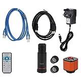 Cámara video electrónica USB del microscopio del microscopio del equipo industrial de HDMI 16MP USB para la industria para el laboratorio (100-240V, estándar británico)
