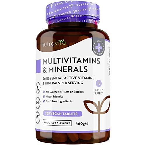 Multivitaminas y Minerales - 365...