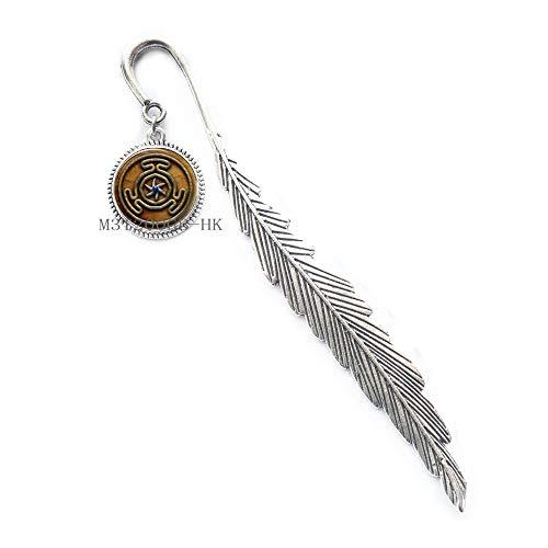 Segnalibro a forma di ruota di Ecate, regalo di Natale, regalo di Halloween, segnalibro con ruota di Ecate, MT240