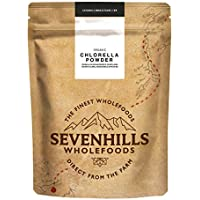 Sevenhills Wholefoods Chlorella En Polvo, Pared Celular Rota, Orgánico 500g