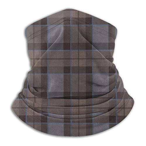 jhgfd7523 Outlander Fraser - Pañuelo de cuello a cuadros a cuadros con máscara para la cara para hombres y mujeres, protección contra el sol, el viento, el polvo, el esquí, montar a caballo, correr