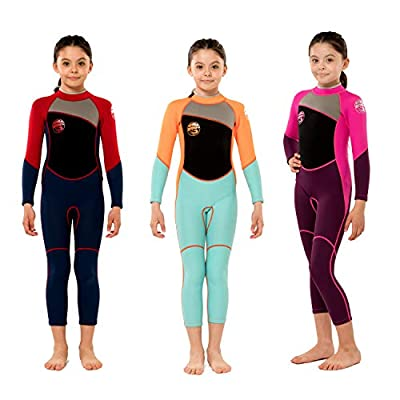 Scubadonkey 2.5mm Neoprene Full Wetsuit for Kids Girls 2020