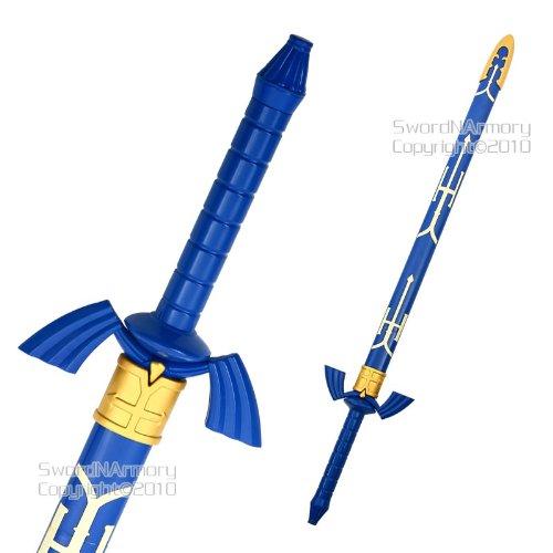 Zelda Anime Link's Twilight Princess Master Sword w/Scabbard