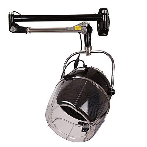 Ouumeis Secador De Casco Procesador De Cabello Acelerador Portátil De Color para El Cabello Hair Processor Heater Ajuste De Temperatura del Temporizador Ajustable Salón De Peluquería Familiar