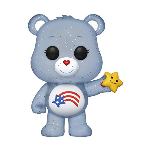 POP Funko Care Bears 638 America Care Bear Translucent Glitter