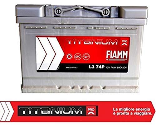 Batteria Fiamm L374P Titanium Pro 74Ah 680A Dx