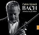 ファビオ・ビオンディ バッハ  無伴奏ソナタ&パルティータ 全曲  ファビオ ビオンディ Bach  Sonatas & Partitas  Fabio Biondi 2CD Import 日本語帯 解説付き