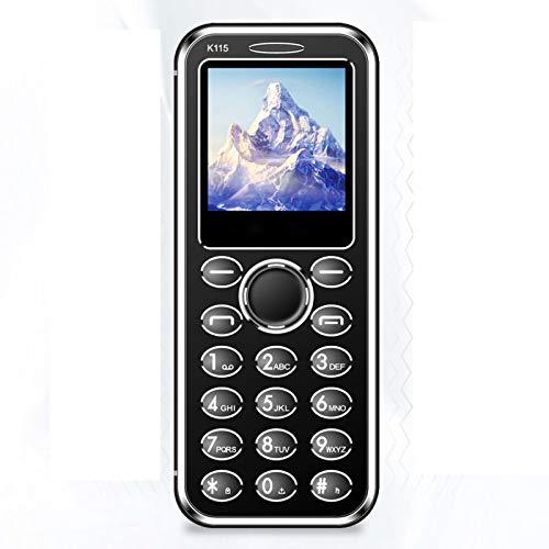 WEUN Mini Teléfono Celular Bluetooth Desbloqueado, con Cable de Datos, Pequeño Teléfono Móvil gsm, con Doble Tarjeta SIM, Tarjeta de Memoria, Espera de Larga Duración