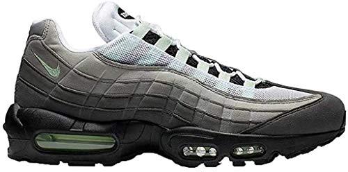 Nike Herren Air Max '95 Leichtathletikschuhe, Mehrfarbig (White/Fresh Mint/Granite/Dust 101), 40 EU