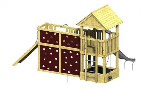 Winnetoo Pro Spielturm Variation 6 - öffentliche Spielanlagen