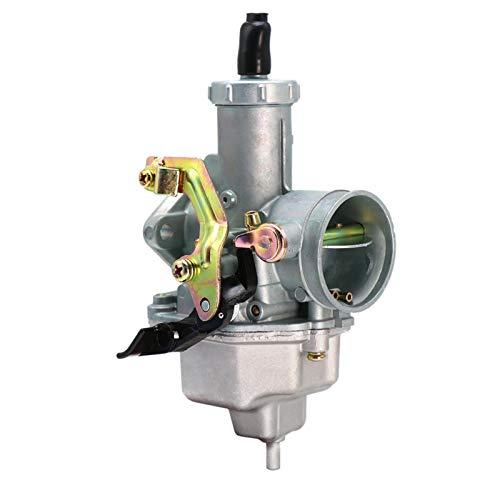 DunMuan PZ30 Carburador + Cable para Keihin Motorcycle TTR250 PZ30 Carburador 175CC / 200CC / 250cc Mano/Cable PZ30 VM26 Carburador DunMuan (Color : PZ30 Auto)