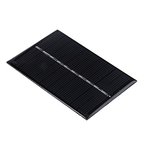 Asiproper 0.6W 5V Solarmodul-Standard-Epoxid-polykristalline Silikon-Batterie-Gebühr