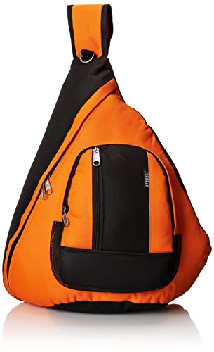 Everest Sling Bag, Orange, One Size