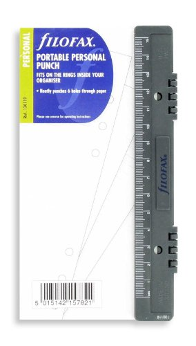 Filofax 130119 Personal Locher mit Lineal