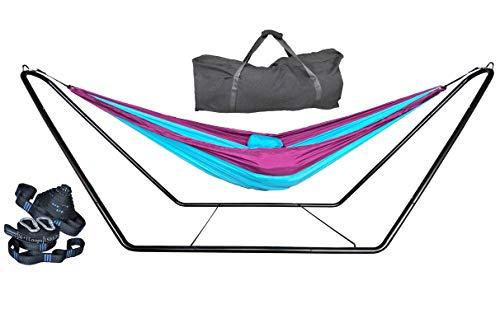 outdoor hammock stand