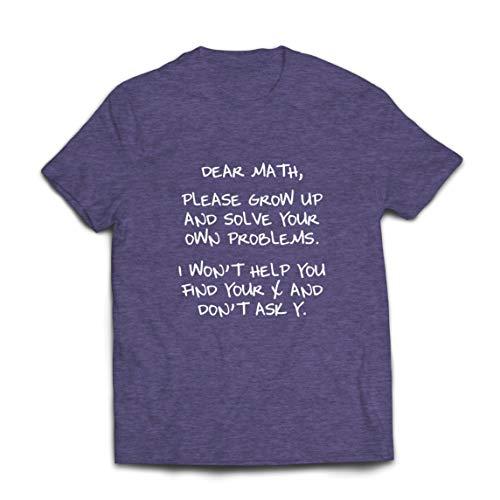 lepni.me Camisetas Hombre Divertido Querido Matemáticas Álgebra Humor Nerd Amante de Las Matemáticas Regalo