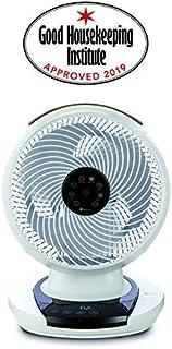 Meaco Fan 1056 DC - Ventilador de Mesa (80° horziontal y 60° Vertical automático) Giratorio, ultrasilencioso, Mando a Distancia por Infrarrojos, Panel táctil.