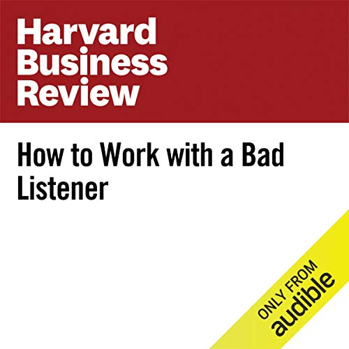 How to Work With a Bad Listener copertina