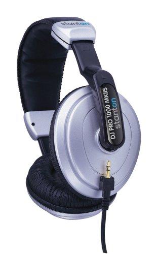 Stanton DJ Pro 1000 Mkii Headphone Blk and Silver