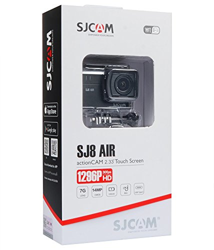 SJCAM SJ8 Air 1296P 60FPS Action Camera 14MP WiFi Sports Cam with 160°Wide Angle Lens,2.3