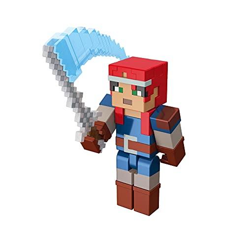Minecraft Dungeons Figura de Juguete de 8cm Valorie (Mattel GNC24)