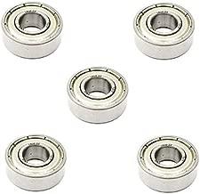 5x 1638 ZZ Metal Shielded Radial Ball Bearings - 3/4