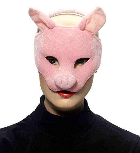Forum Novelties Deluxe Plush Pink Pig Animal Half...