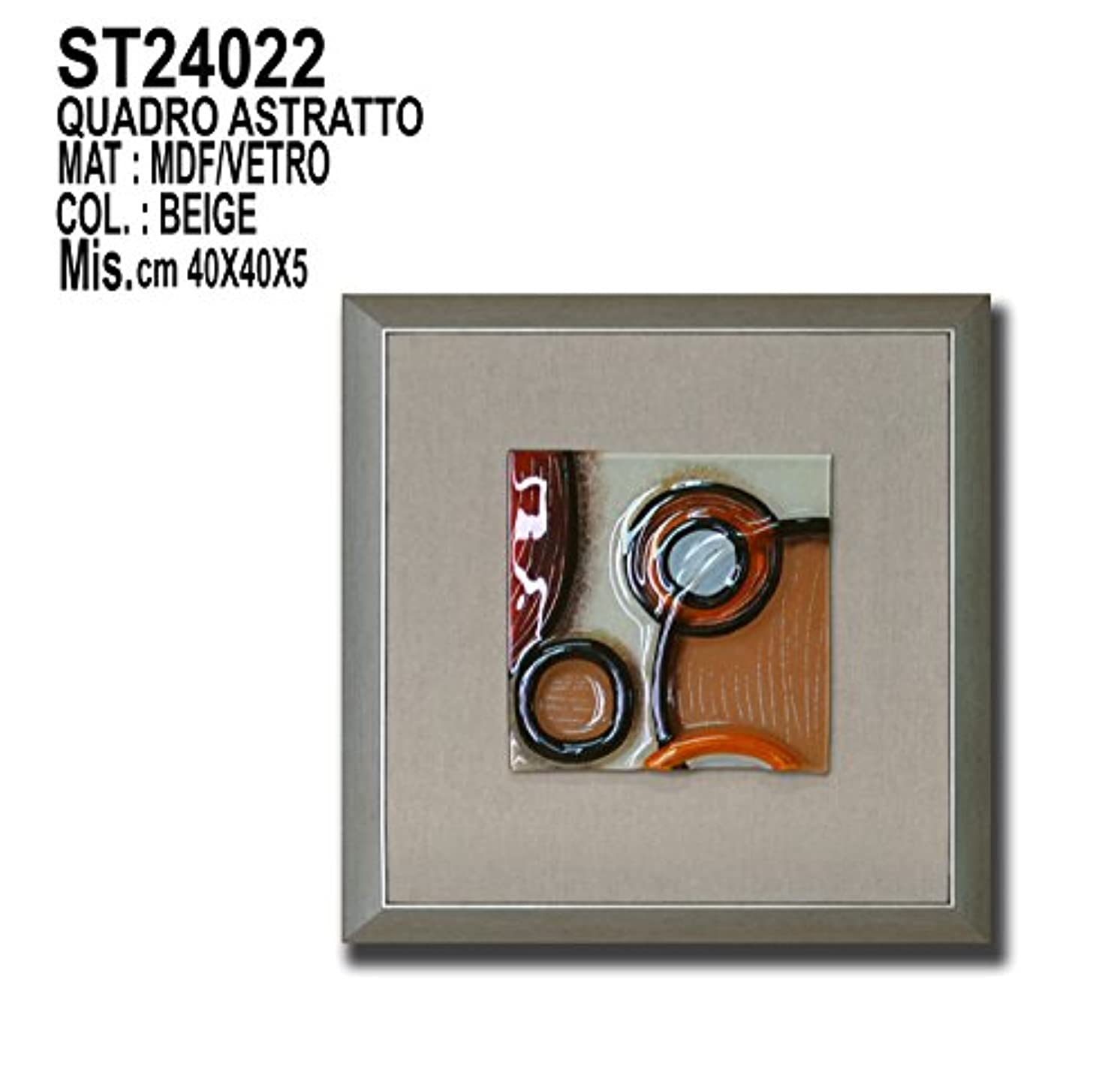 Siro Time Frame, Taupe, One Size