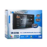Soundstream VM-622HB Digital Media Receiver / 6.2', 2-DIN, with Bluetooth 4.0 & MHL Android PhoneLink, A2DP Wireless MP3 Audio Playback, Rear Audio/Video Input, Rear View Camera Input