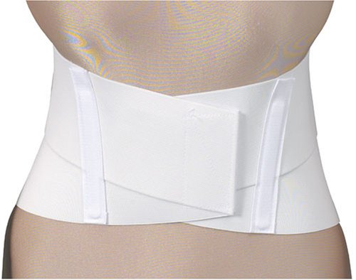 Duro-Med 9 Sacral Belt with 4 Front, White, XX-Large