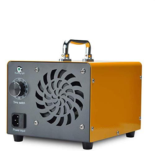 Podazz Generador de Ozono Purificador de Aire Comercial, Esterilizador de Aire Desodorizante de 15000 mg / h 120W para el Hogar, la Oficina, la Cocina, Ionizador de Aire Portátil