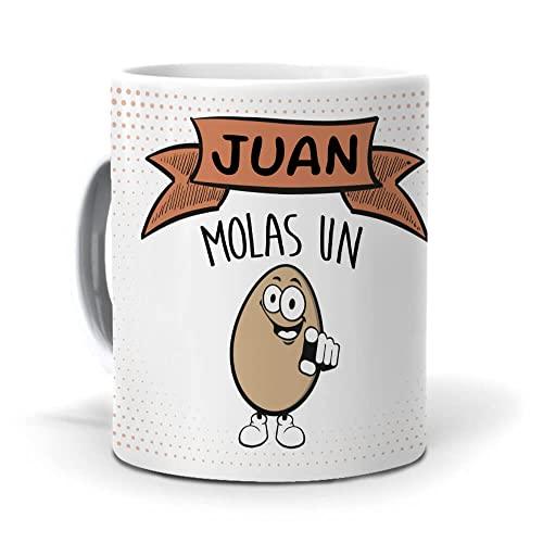 Taza Juan, molas un Huevo