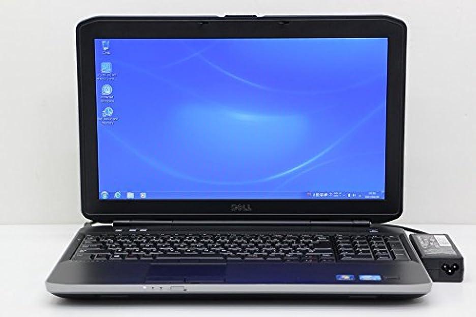 しっかり人物受け皿【中古】 DELL Latitude E5530 Core i5 3230M 2.6GHz/4GB/320GB/Multi/15.6W/FWXGA(1366x768)/Win7