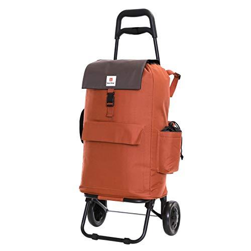 Karabar Fully Insulated Wheeled Large Shopping Trolley Bag 95 cm 2.3 kg 32...