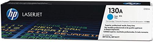 HP 130A Original Toner (geeignet für HP Color Laserjet Pro M176n, HP Color Laserjet Pro M177fw) blau