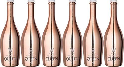 "Heuchelberg eG""Today my name is Queen"" Deutscher roter Perlwein mit zugesetzter Kohlensäure Halbtrocken (6 x 0.75 l)"