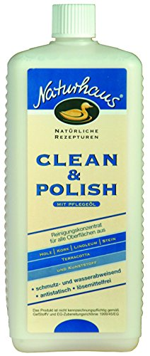 NATURHAUS NATURFARBEN Clean und Polish , 1 Stück, , Farblos, 1 l