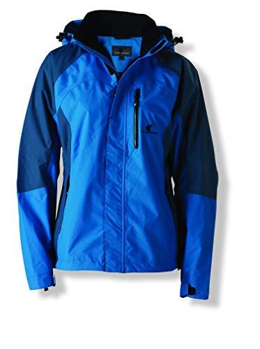 Wolf Camper Sioux functionele jas voor dames, aqua blauw/petrol, maat XL.