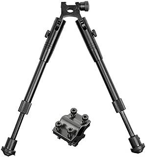 Beileshi Tactical Bipod Universal Adjustable Height Picatinny Rail/Swivel Mount Bipod with Rifle Barrel Clamp Accessory Weaver Mount Rail